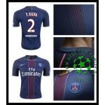 Camisa De Futebol Paris Saint Germain T. Silva 2016-2017 I Masculina