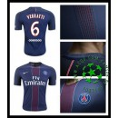Camisas Paris Saint Germain Verratti 2016/2017 I Masculina