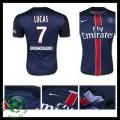 Camisas Paris Saint Germain Lucas 2015-2016 I Masculina