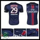 Camisas Paris Saint Germain Augustin 2015/2016 I Masculina
