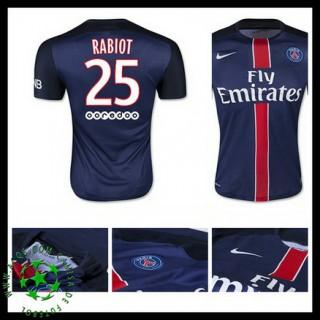 Camisas De Futebol Paris Saint Germain Rabiot 2015-2016 I Masculina