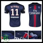 Camisas Paris Saint Germain Di Maria 2015-2016 I Masculina