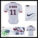 Camisetas Paris Saint Germain Di Maria 2015 2016 Ii Masculina