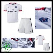 Uniforme De Futebol Paris Saint Germain Minikits 2015 2016 Ii Masculina