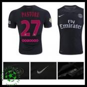 Uniforme De Futebol Paris Saint Germain Pastore 2015/2016 Iii Masculina