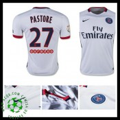 Uniforme Futebol Paris Saint Germain Pastore 2015 2016 Ii Masculina