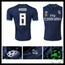 Camisas De Futebol Real Madrid (8 Kroos) 2015-2016 Iii Masculina