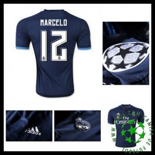 Camisas Du Futebol Real Madrid (12 Marcelo) 2015/2016 Iii Masculina