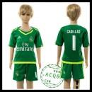 Real Madrid Camisas Iker Casillas Goleiro 2015/2016 Ii Infantil