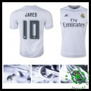 Camisas Real Madrid (10 James) 2015/2016 I Masculina