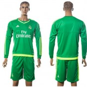 Real Madrid Camisa Manga Longa 2015-2016 Ii Goleiro