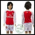 Arsenal Uniforme De Futebol Manga Longa 2015-2016 I Infantil