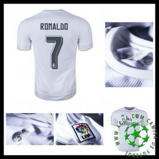 Camisa Futebol Real Madrid (7 Ronaldo) 2015/2016 I Masculina