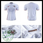 Camisas De Futebol Rússia Autêntico Ii Euro 2016 Masculina