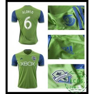 Comprar Camisa Du Futebol Alonso Seattle Sounders Masculina 2016 2017 I On-Line