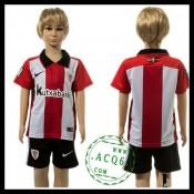 Athletic Bilbao Camisas Futebol 2015/2016 I Infantil