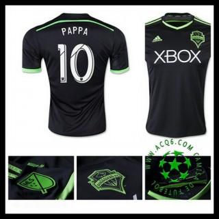 Camisas Futebol Seattle Sounders (10 Pappa) 2015-2016 Iii Masculina