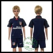 Atlético Madrid Camisa De Futebol 2015-2016 Ii Infantil