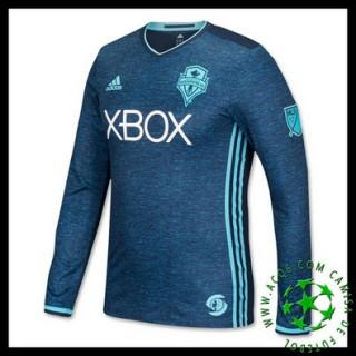 Comprar Camisetas Manga Longa Seattle Sounders Masculina 2016/2017 Iii Mais Barato Online