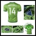 Camisas Seattle Sounders (14 Marshall) 2015/2016 I Masculina