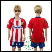 Atlético Madrid Camisas 2015/2016 I Infantil