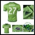 Camisas De Futebol Seattle Sounders (27 Neagle) 2015-2016 I Masculina