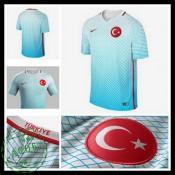 Camisas Futebol Turquia Euro 2016/2017 Ii Masculina