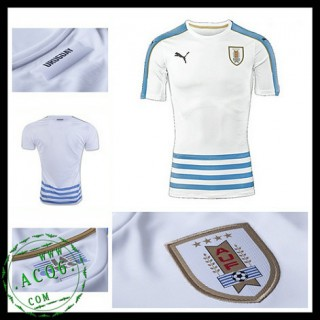 Camisa Futebol Uruguai 2016/2017 Ii Masculina
