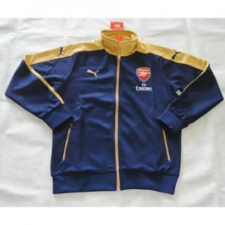 2015/2016 Arsenal Azul Jaqueta