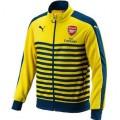 Arsenal 14 15 T7 Anthem Jaqueta (Amarelo)_