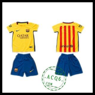 Barcelona Camisetas 2015-2016 Ii Infantil