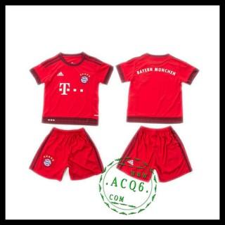 Bayern München Camisa De Futebol 2015-2016 I Infantil