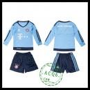 Bayern München Camisetas Manga Longa Goleiro 2015-2016 I Infantil