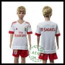 Benfica Camisa Du Futebol 2015 2016 Ii Infantil