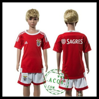 Benfica Uniforme De Futebol 2015-2016 I Infantil