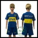 Boca Juniors Uniformes De Futebol 2015/2016 I Infantil