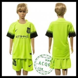 Manchester City Camisas Futebol 2015/2016 Iii Infantil