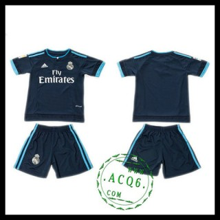 Real Madrid Camisa De Futebol 2015/2016 Iii Infantil