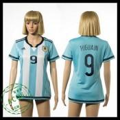Argentina Camisa Higuain 2015/2016 I Feminina