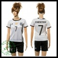 Alemanha Camisas De Futebol Schweinsteiger 2015-2016 I Feminina