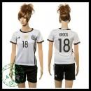 Alemanha Camisas De Futebol Kroos 2015 2016 I Feminina