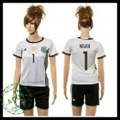Alemanha Camisas Neuer 2015/2016 I Feminina