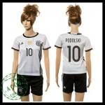 Alemanha Camisetas Podolski 2015-2016 I Feminina