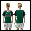 Northern Ireland Camisa Euro 2016 I Infantil