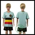 Bélgica Camisa Futebol Euro 2016 Ii Infantil