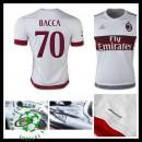 Camisas Du Futebol Ac Milan (70 Bacca) 2015/2016 Ii Masculina
