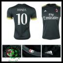 Camisa Ac Milan (10 Honda) 2015 2016 Iii Masculina