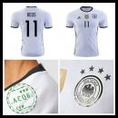 Camisa Futebol (11 Reus) Alemanha Autêntico I Euro 2016 Masculina