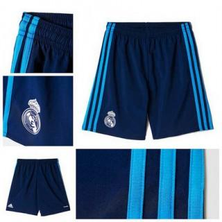 Real Madrid 2015 2016 Third Futebol Curtos