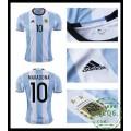 Compra De Camisas De Futebol Maradona Argentina Masculina 2016 2017 I Online Store